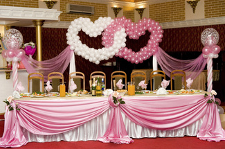 Balloon decoration by lets celebrate weddings in manchester balloons manchester junglespirit Gallery